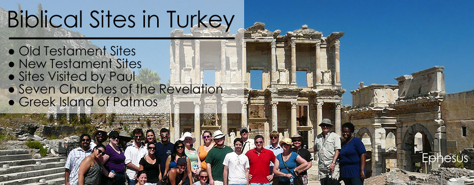 TURKEY STUDY ABROAD - IN THE FOOTSTEPS OF PAUL IN TURKEY & SEVEN